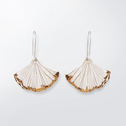 Ginko Leaf earrings