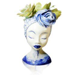 Vase, Blue