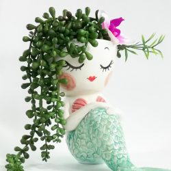 Mermaid planter 03